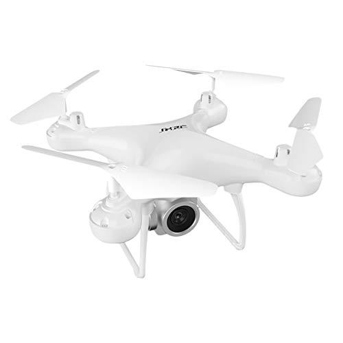 Avión no tripulado de 4 Ejes de Doble cámara de Alta definición 4K Quadcopter Fotografía aérea WiFi Remoto Control de la aeronave, Blanca