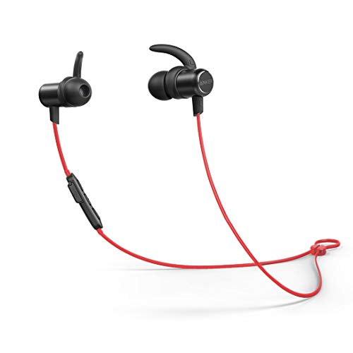 Anker SoundBuds AK-A32350L1 Slim Wireless in Ear Headphones with Mic (Red)