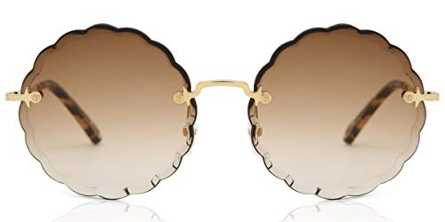Chloé Gafas de Sol ROSIE CE142S GOLD/BROWN SHADED mujer