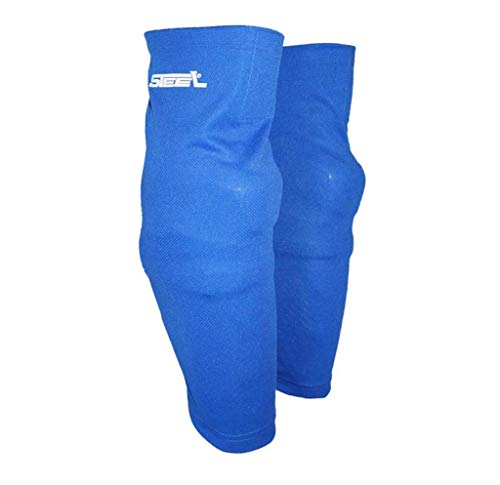 Steel Eishockey Stutzen Textil-Netzgewebe Mesh Größe Senior, Farbe blau