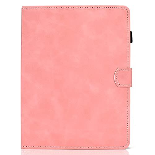 zl one - Carcasa de piel sintética para tablet PC de 10 pulgadas, color rosa