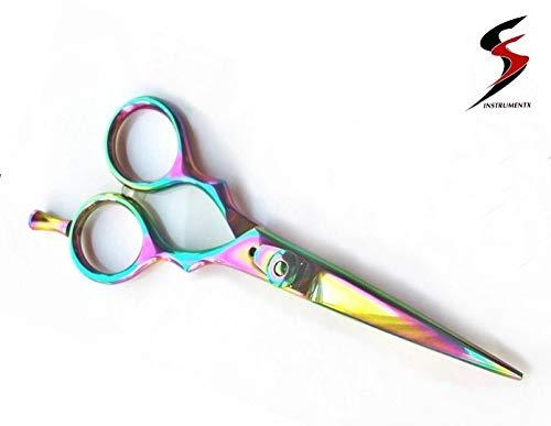 KATX - Tijeras de peluquería de titanio, 14 cm
