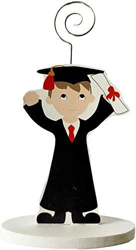 DISOK - Pinza Portafotos Madera GRADUACIÓN NIÑO. Detalles de graduación para regalar. Regalos para la graduación de las niños