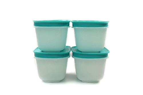 Tupperware Gefrier Behälter 170 ml weiß Minze (4) EIS-Kristall Dose Eiskristall Gefrier-Behälter
