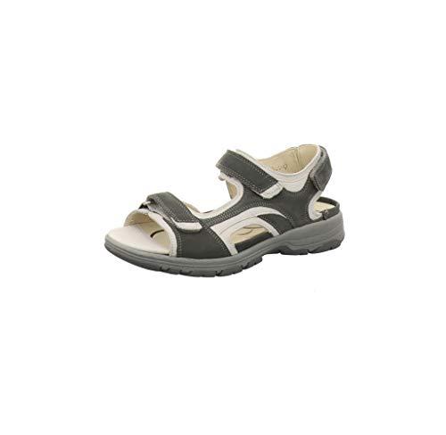 Waldläufer Herki 361002 768 247 Damen Komfort Sandalette, Größe 40