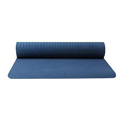 QIUUE 2020 Non-Slip Sports Fitness Yoga Mat Cla...