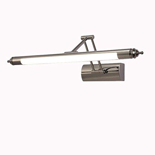 DSJ Spiegel-licht geleid spiegel-schijnwerper-Europese spiegel-kast-licht, badkamer-lamp-moderne eenvoudige spiegel verlicht badkamer-lichten, badkamer-lichten, warme BAI-56cm