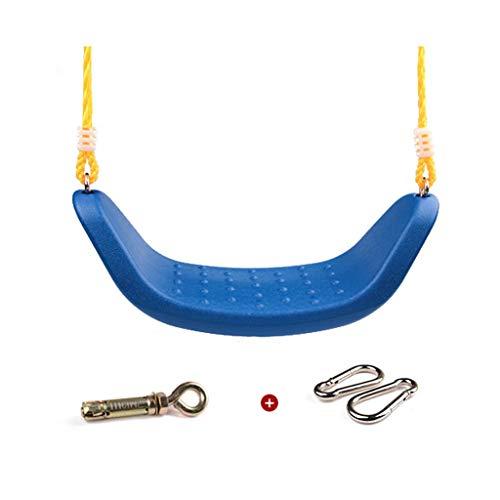 Zunruishop schommel, antislip, voor buiten, voor kinderen en volwassenen, materiaal PP, breedte schommelstoel 53 cm, schommelstoel