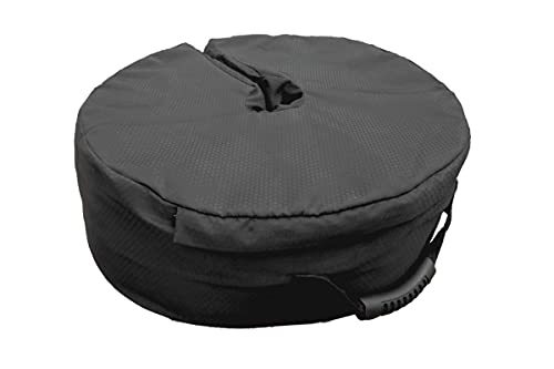 """PatioPRO 17"""" Umbrella Base Weight Bag for Umbrella Stand - Safety Outdoor Patio Weatherproof Sand Bag, Easy Set Up, Fits All Outdoor Umbrellas, Cantilevers, Lamps, Flag Poles with Diameter 3"""" to 3.5"""""""