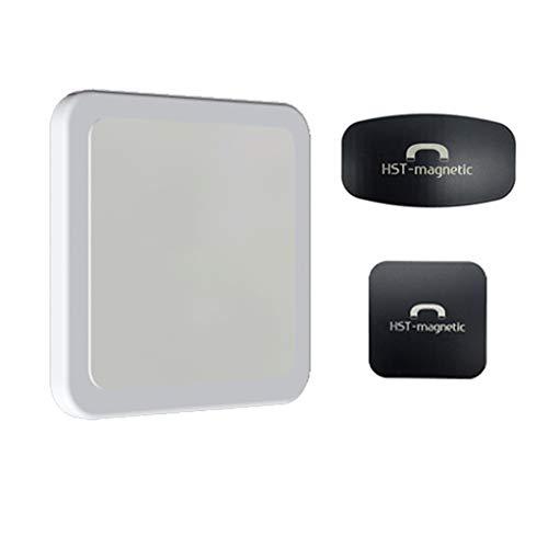 MINGSTORE Universal Magnetic Stand Sticker Soporte para teléfono móvil Tarjeta Tableta Montaje en Pared Coche Oficina en casa Gimnasio para iPhone iPad Pro Air