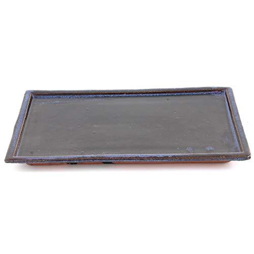 Bonsai 53351 Dessous de Verre carré Bleu 28 x 17 cm