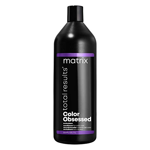 MATRIX Total Results Color Obsessed Antioxidant Conditioner, Enhances Hair Color & Prevents Fadin, for Color Treated Hair, 33.8 Fl Oz