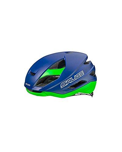 Salice Levante - Casco de Ciclismo, Color Azul, Talla 52-58