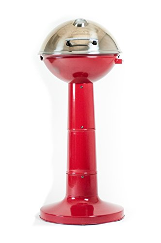 MiToo 20150414R Master Built Electric Veranda Grill, Red
