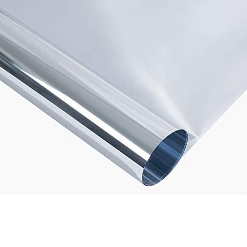 ZXL Venster Films Wegwerp Perspectieve Zonnebrandcrème Isolatie Film Thuis Keuken Balkon Glazen Venster Doos Lijm Venster Sticker Infrarood Weigering Rate: 90%, (Maat: 120 * 300 cm)
