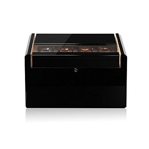 Modalo Imperia Uhrenboxen für 16 Uhren in schwarz beige 701612