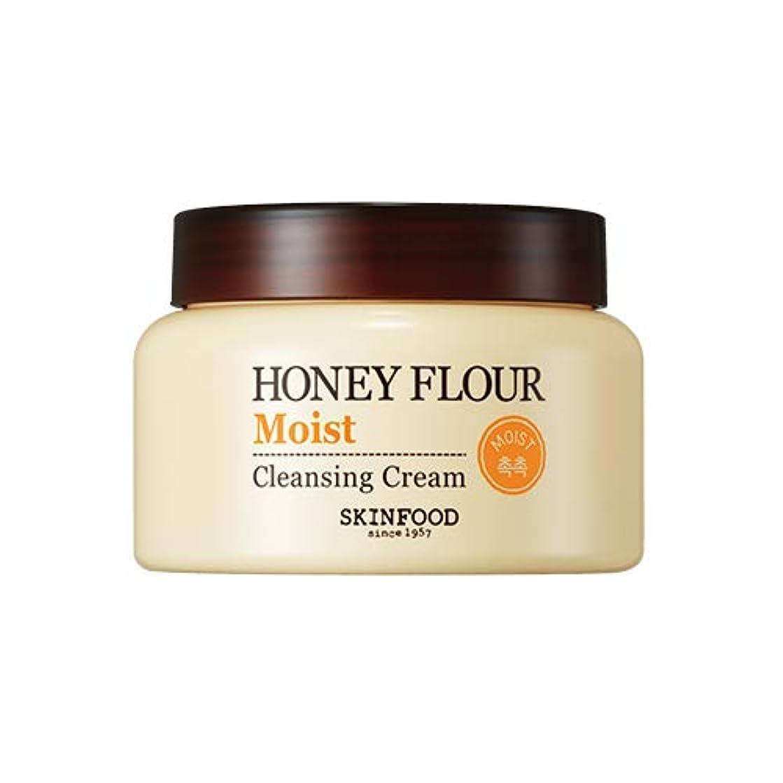 店主暗唱するコールドSkinfood/Honey Flour Moist Cleansing Cream/ハニーフラワーモイストクレンジングクリーム/225ml [並行輸入品]