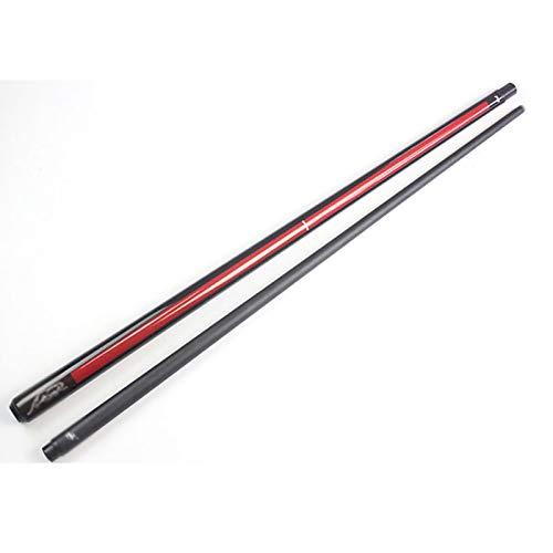 WKZ 1/2 Jointed Snooker Pool Queue , 58 '' / 18-20oz Handcraft Maple Billard Queue , Qualcomms Pool Cue Sticks(Size:Schwarzer Schaft,Color:11.5mm)