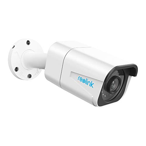 Reolink 4K Ultra HD PoE IP Kamera Aussen, 8MP Add-on Überwachungskamera nur für Einsatz PoE Überwachungssystem od. NVR