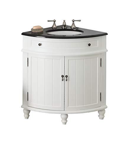 24' Thomasville Corner Sink Bathroom Vanity Model GD-47533GT