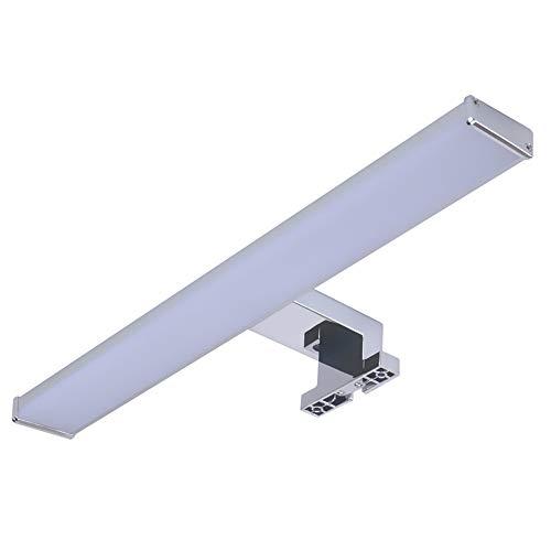 Trango LED Spiegelschrank Leuchte IP44 I Badleuchte I Schrank-Beleuchtung TG2247 I Schminkspiegel I Bilderleuchte I Aufbauleuchte 8 Watt 4000K Tageslicht-weiß