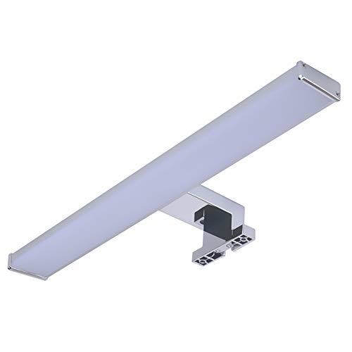 Trango Led-spiegelkast lamp IP44 I badkamerlamp I kastverlichting TG2247 I make-up spiegel I fotolamp I opbouwlamp 8 Watt 4000 K daglicht wit