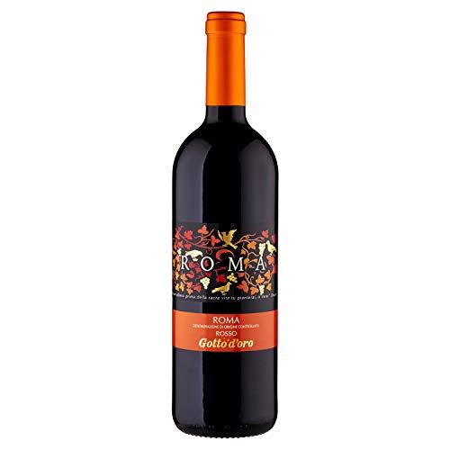 Gotto d'Oro Vino Roma Doc Rosso - 750 ml