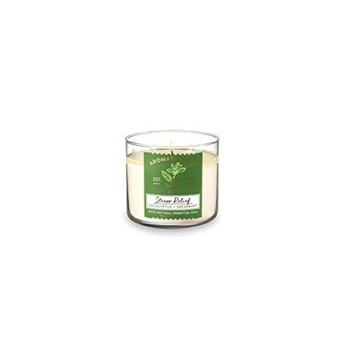 Bath Body Works Aromatherapy Stress Relief 3 Wick