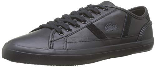 Lacoste Herren Sideline 419 1 CMA Sneaker, Schwarz (Black/Gold 1v7), 43 EU