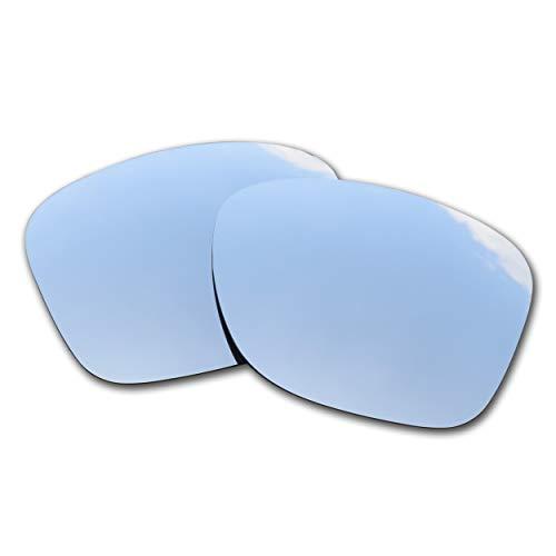 SOODASE For Oakley Catalyst Gafas de sol Plata Lentes de repuesto polarizadas
