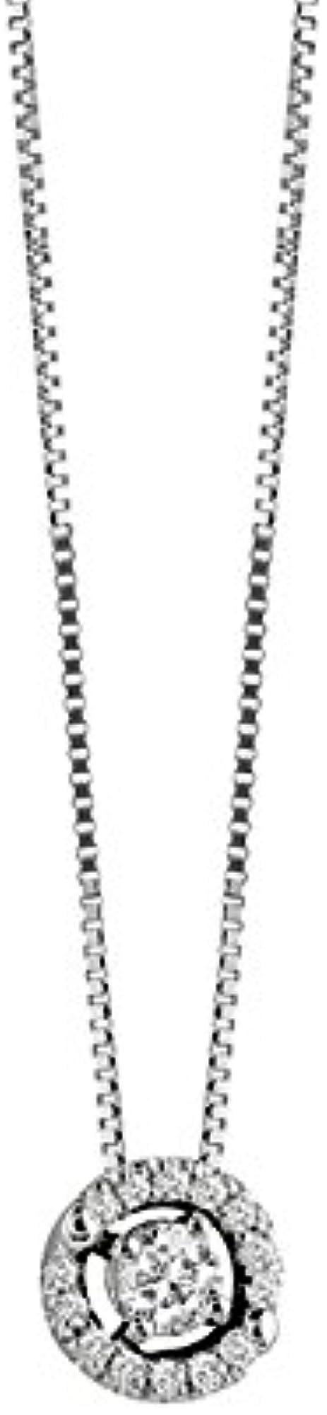 Salvini ,collana in oro bianco e diamante 0, 17 ct,per donna FRP-03212