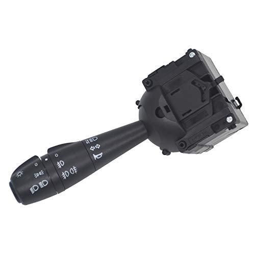 ZEALfix Interruptor Intermitente Para Volante 8201167988 255405056R para Dacia Dokker Duster Logan Lodgy Sandero Dorker Clio Columna De DireccióN Interruptor De Luz