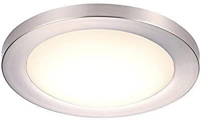 Cloudy Bay 12 Inch BN Flush Mount Ceiling Light