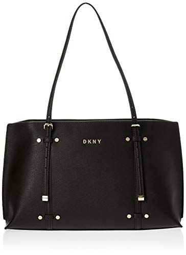 DKNY Bo East/West Satchel Black/Gold One Size