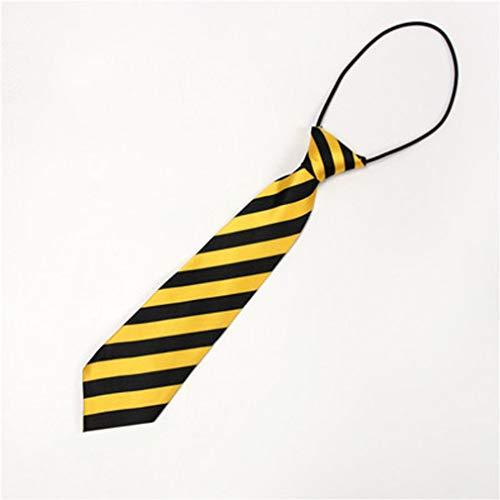 Preisvergleich Produktbild ZHENGLI Polyester Material Krawatte Kinder Druck Handwerk Krawatte Student Stil Schuluniform Britischen Wind Fliege Freie Einstellung elastische Gute Fliege (größe 28 * 5 cm)