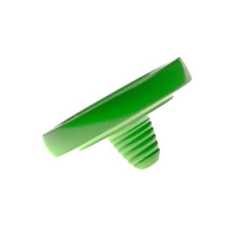 vhbw Botón de liberación ergonómico Verde para cámaras Hasselblad, Knight, Leica, Voigtlander