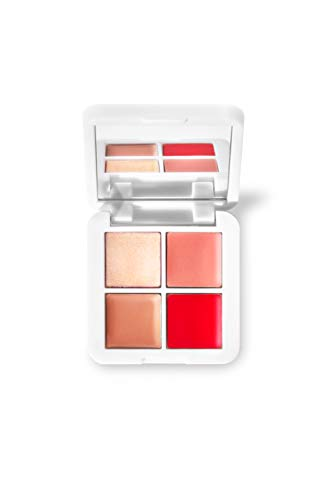 RMS Beauty Lip2Cheek Glow Quad Mini Palette (0.08 oz)