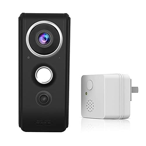 HXXXIN Monitoreo Remoto Inteligente inalámbrico WiFi de Timbre de Video de Alta Gama