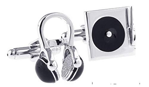 SYXYSM Guitar Cufflinks Black Music Design Copper Cufflinks Cufflinks Knots For Men Cufflinks Gift Set For Men (Color : D)
