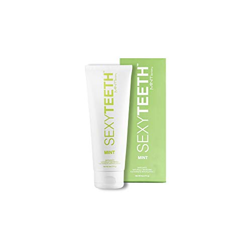 SEXYTEETH by MINT Dentistry - Anticavity Natural Whitening Toothpaste with Fluoride - Mint - 4oz