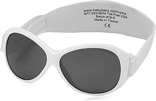 Baby Banz Kidz Banz Retro Sunglasses - White