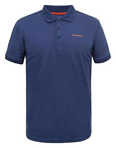 Icepeak Herren Pique Polo Shirt Kyan, blau, L, 557630590I