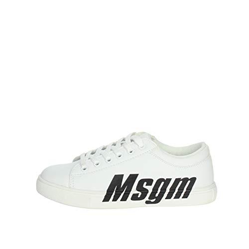 MSGM 022763 Sneakers für Kinder, Weiß, Weiß 34