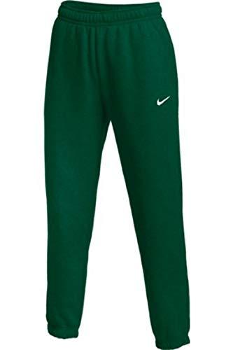 Nike Womens Club Fleece Jogger Sweatpants (Green, X-Large)