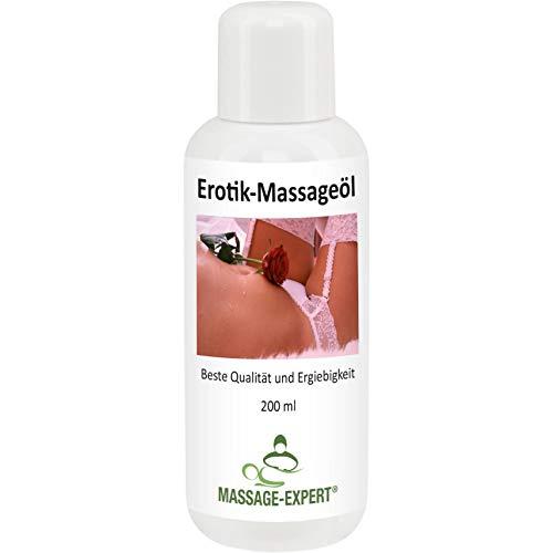 Erotik-Massageöl von MASSAGE-EXPERT, 200 ml