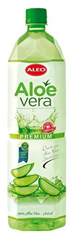 ALEO Aloe Vera Getränk Premium (12 Flaschen zu je 1,5 L) inkl.Pfand