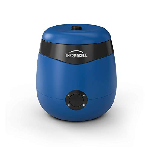 Thermacell E55 Rechargeable Mosquito Repeller; Highly Effective Rechargeable Mosquito Repellent, Royal Blue