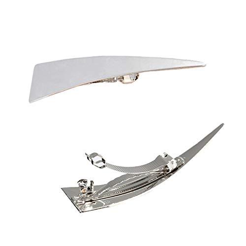 YouU Klein, Schöne, Einfache, Klassische Haarspangen, Exquisite Haarnadeln für Frauen (Silber)