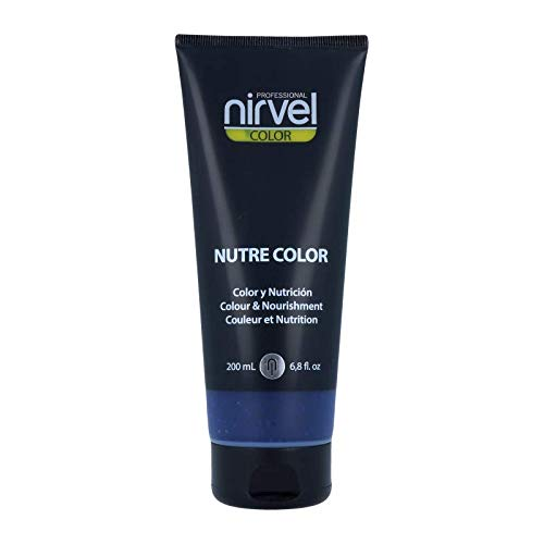 Nirvel NUTRE COLOR FLUOR Azul Klein 200 mL Mascarilla