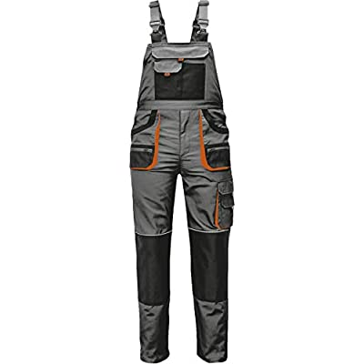 Mens Work Bib and Brace Dungarees Overalls Stenso Des-Emerton/©